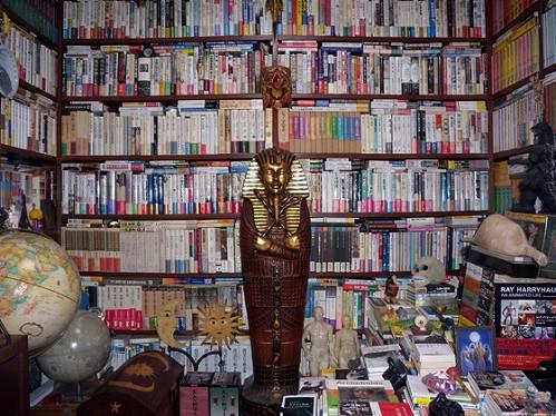 著者の一条真也先生の書斎の一部